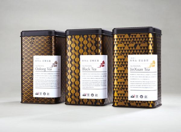 Gold Food Packagings, Tea