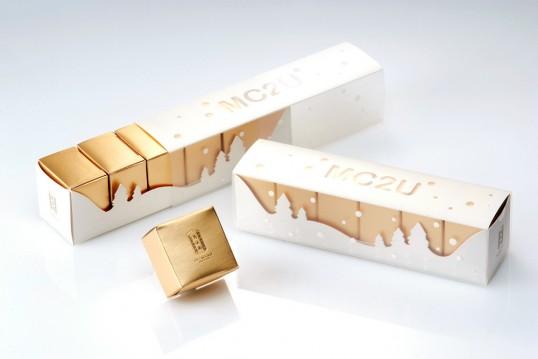 15 cool & luxurious gold food packagings