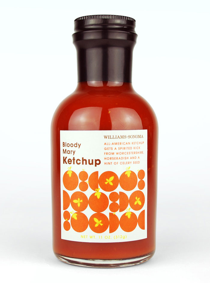 Ketchup Bottle Designs - Bloody Mary Ketchup
