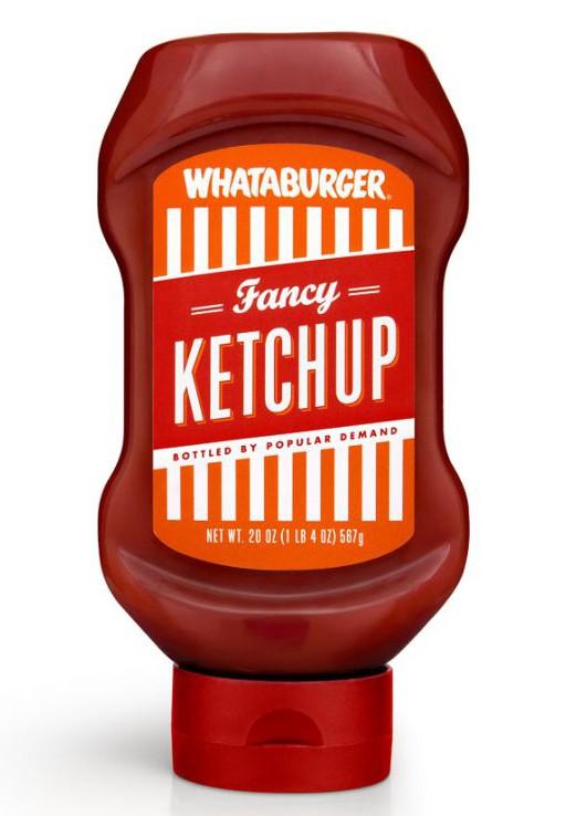 Ketchup Bottle Designs - Whataburger Fancy Ketchup