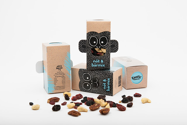 Nut and berry packaging, Cool Kids Food Packaging Designs