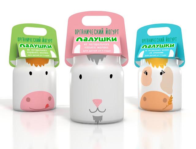 Milk packaging for kids, Cool Kids Food Packaging Designs
