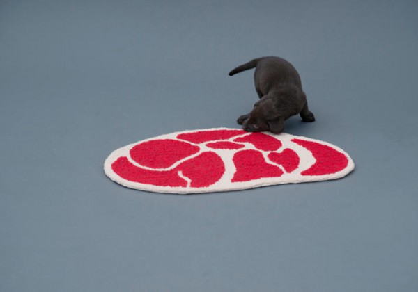 Meat rugs for dogs