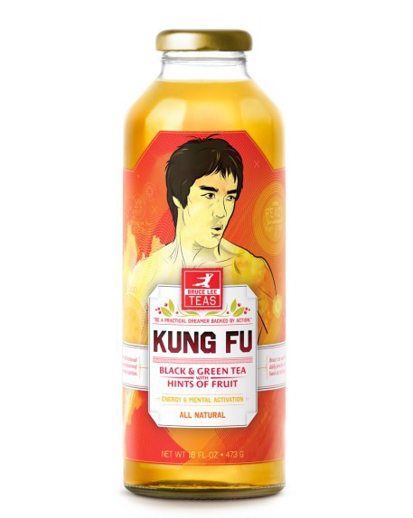 Bruce Lee Kung Fu Tea, Food Packaging That Stands out like no other by Moxie Sozo