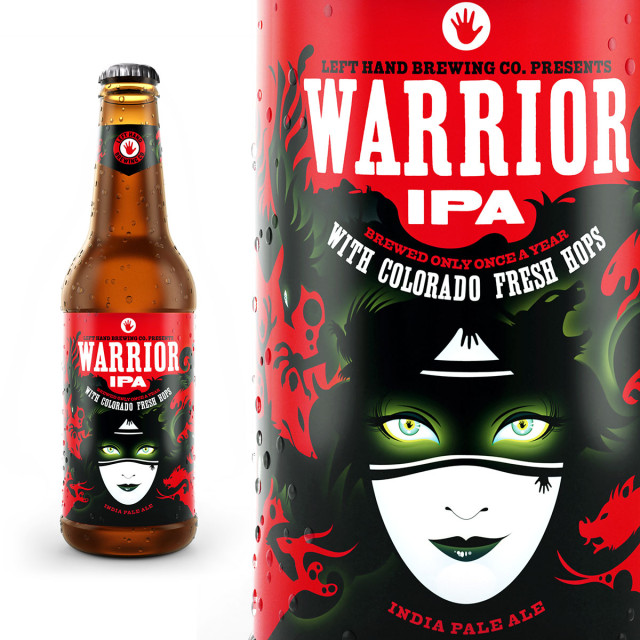 Warrior IPA, Food Packaging That Stands out like no other by Moxie Sozo
