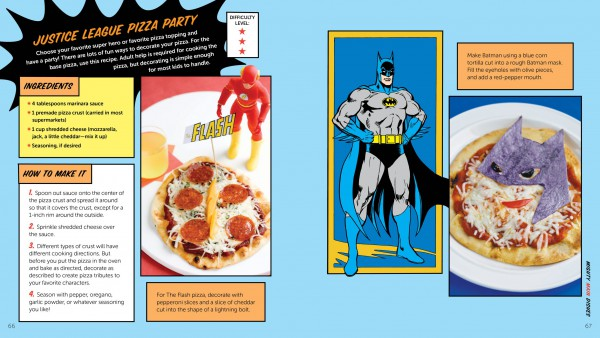 The DC Superhero Cookbook for all fans of Superheroes