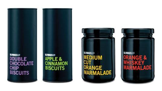 Black Food Packaging - 20 Food Packagings for lovers of darkness