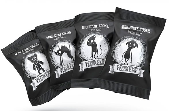 Black Food Packaging - 20 Food Packagings for lovers of darkness