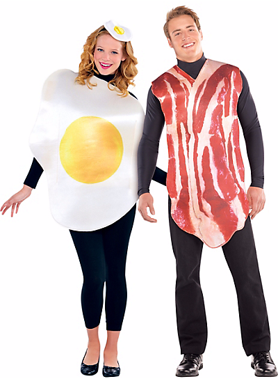 Bacon and Egg Halloween Costumes for food lovers