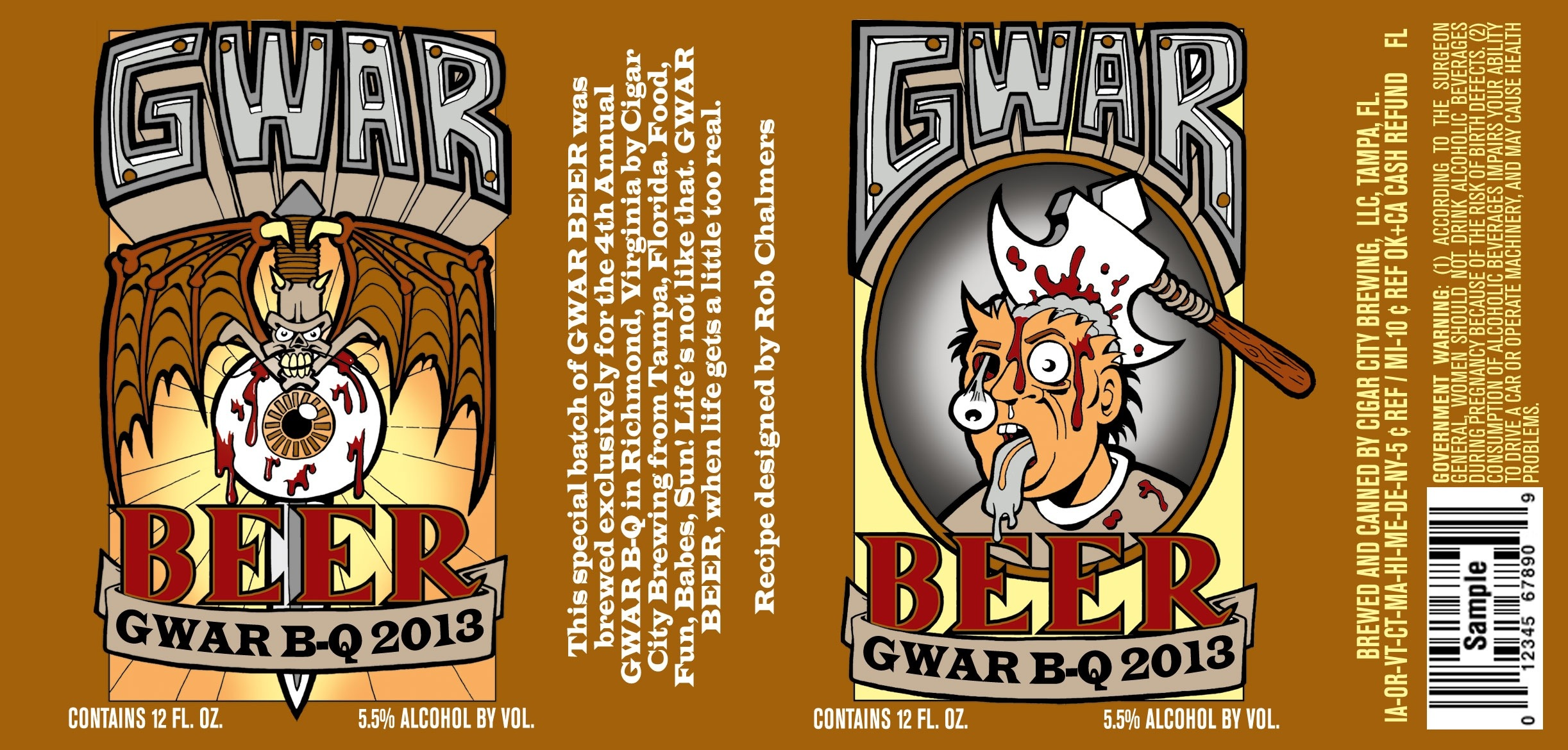 Gwar Beer, Rock Beer - 17 Cool Beers for Music Lovers