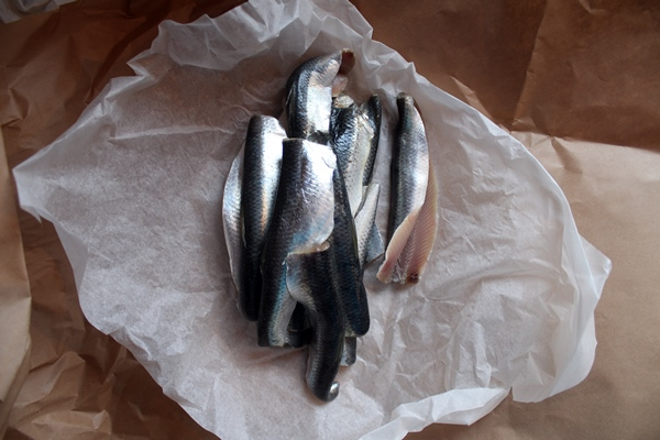 A-Z Food Photography Project - H is for Herring - See them all at Ateriet.com Food letters, food alphabet a to z food