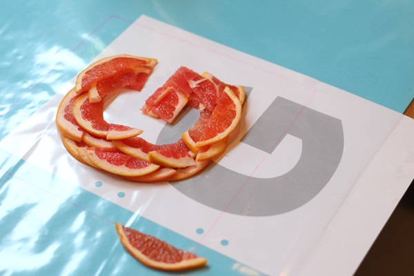 A-Z Food Photography Project - G is for Grapefruit