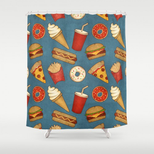 10 Food Shower Curtains - Yes this is a real list - AterietAteriet ...