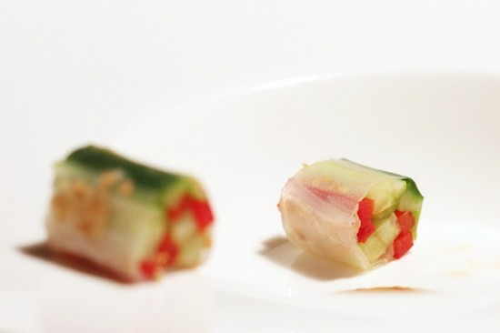 Asian inspired menu for New Year's Eve - get it at Ateriet.com