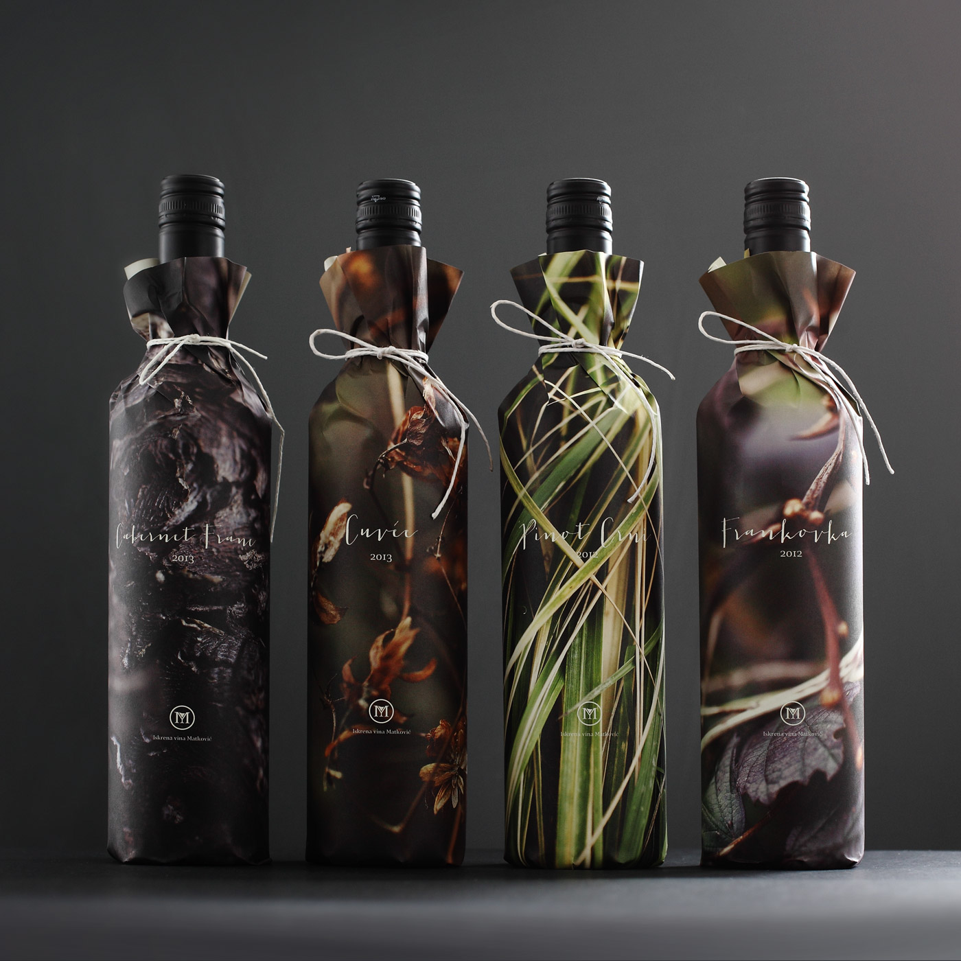 let s start out strong with these very cool paper wrapped wines from