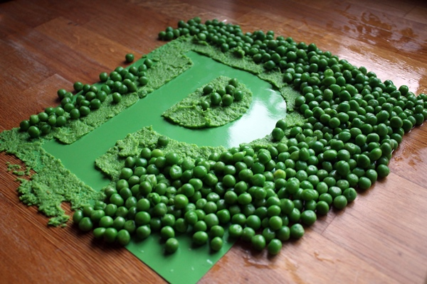 P is for Peas, A-Z Food Photography Project at Ateriet. The full alphabet of food.