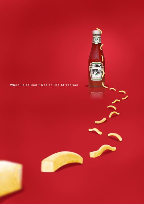 Creative Heinz Ketchup Ads - Check out these 20 great ones at Ateriet