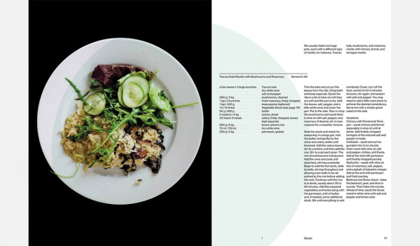 Studio Olafur Eliasson The Kitchen Book combines Food & Art