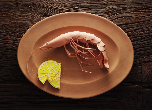 Beautiful Paper Seafood by Mauro Seresini, see them all at Ateriet