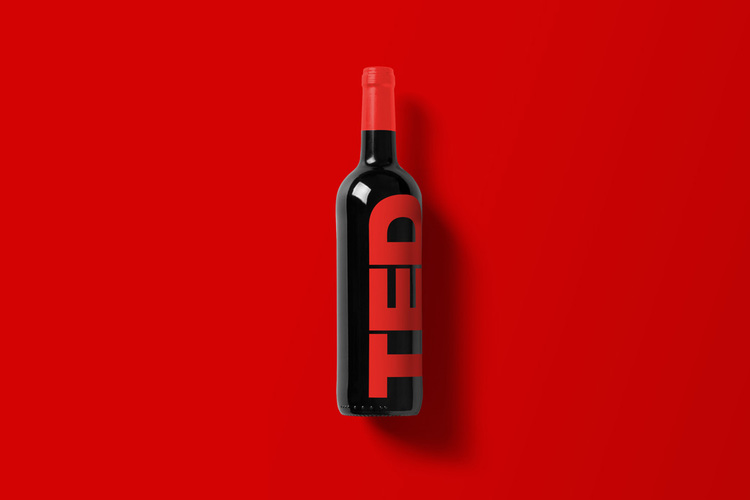Branded Wine Bottles - if every brand had it's own wine, TED Wine bottle