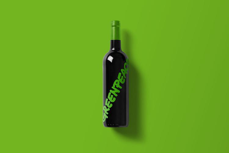 Branded Wine Bottles - if every brand had it's own wine, Greenpeace wine bottle
