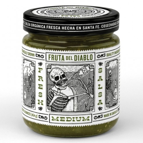 Skull Packaging in Food and Drinks - a list of 20 Great Ones, see them and more great packaging at Ateriet