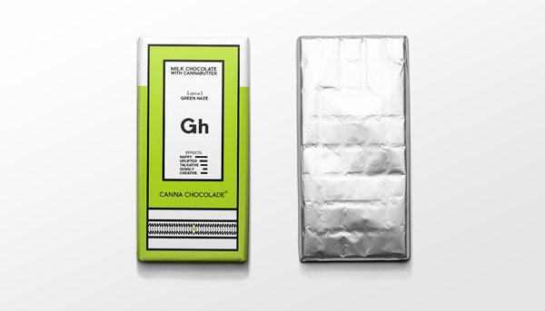 Cannabis Chocolate comes with both great design & added value