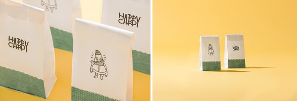 Happy Cappy Popsicles - Great Branding for Popsicles