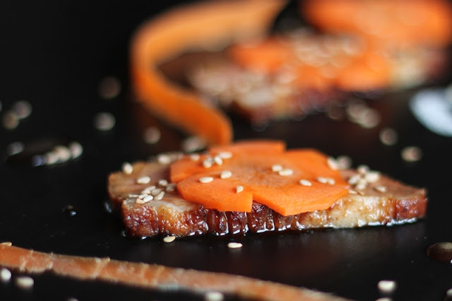 Seared Duck Breast with Soy & Carrots