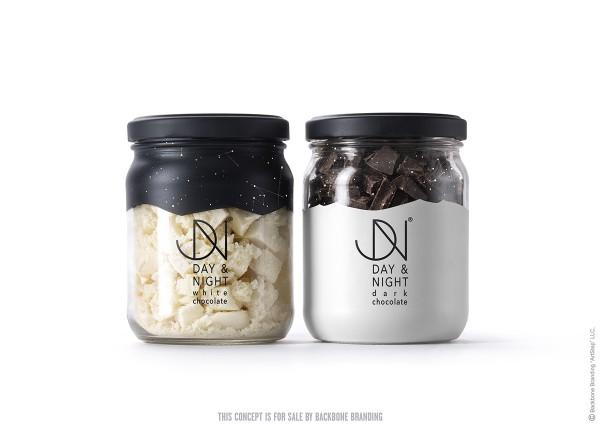Day and Night Branding Concept by Backbone Branding