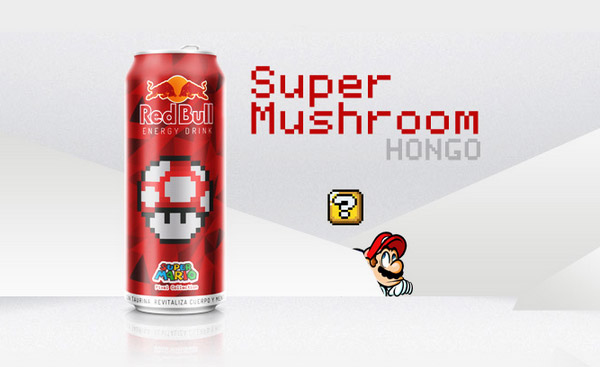 Red Bull Super Mario Concept by Jhonatan Ayala