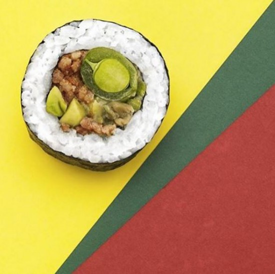 Inventive Sushi Rolls from Sweden, see them all at Ateriet.com