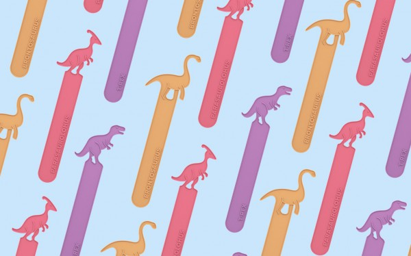 Dinosaur Popsicles inspired by Ice Age, popsicle stick with a dinosaur