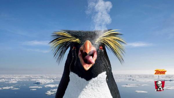KFC Zinger Ads make animals take the heat