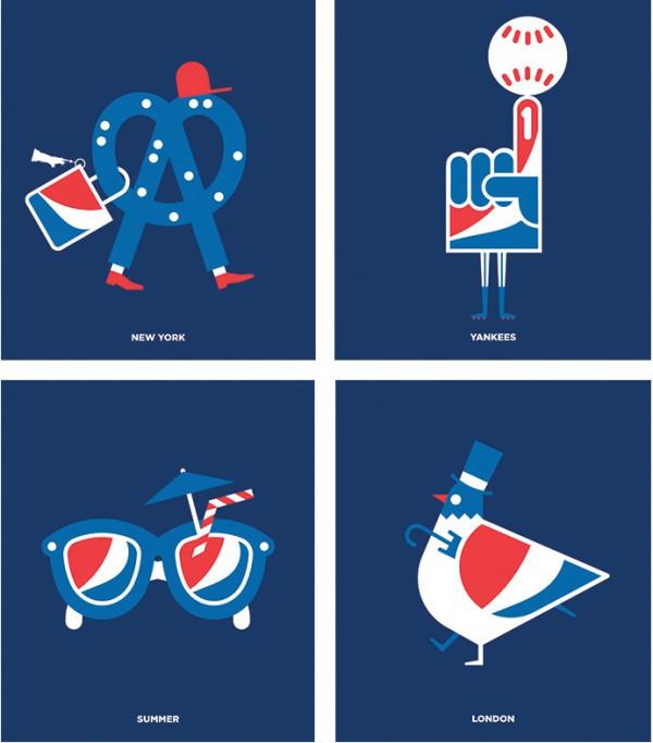 Pepsi Icons by Safari Sunday - Making Pepsi Look Good