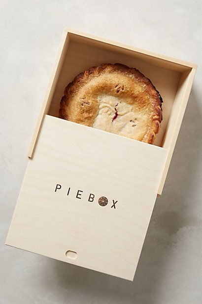 Wood piebox, Wood Food Packaging - 10 Great Ideas