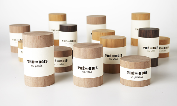 Wood tea packaging, Wood Food Packaging - 10 Great Ideas