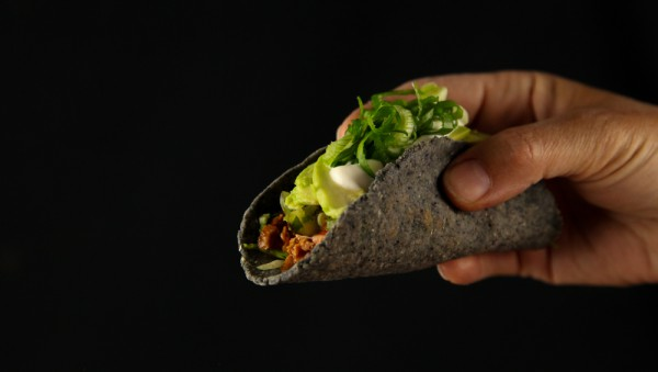 Chipotle Beef Taco with Green Pepper Salsa & Avocado