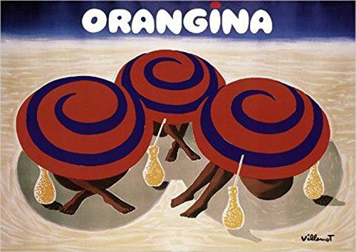 Vintage orangina posters