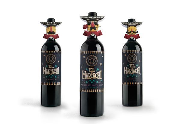 Steve Simpson El Mariachi Wine Design