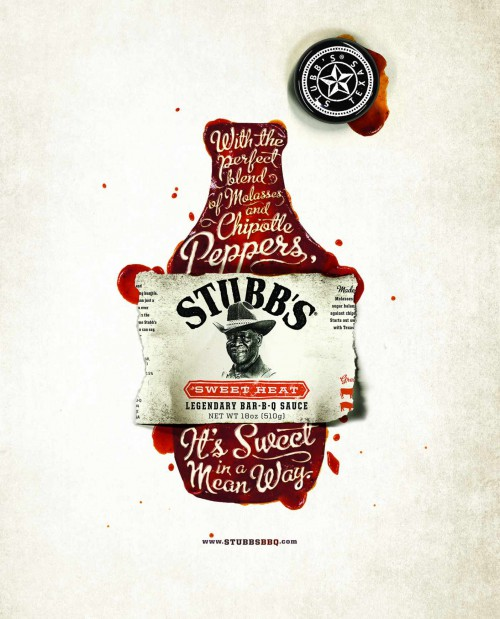 Stubbs 1968 - Great looking ads for a classic sauce