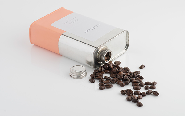Wishbone Coffee Packaged in a metal can