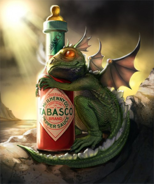 Tabasco Art - When hot sauce and art meet