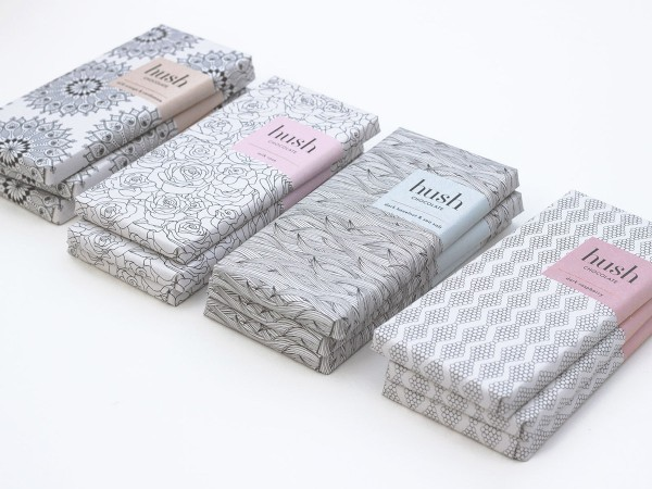 Hush Chocolate Packaging - From Fashion to Chocolate