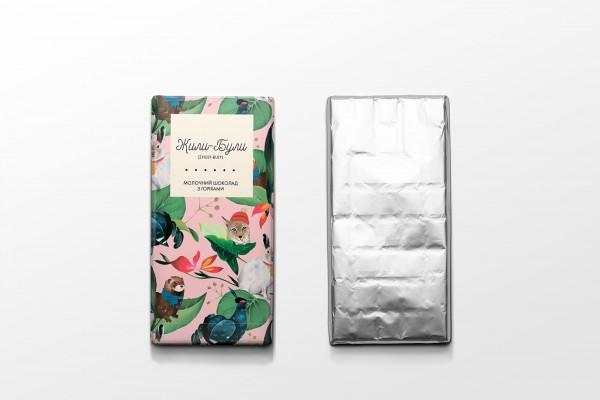 Zhuli-Buli Oddly Satisfying Chocolate & Art Project