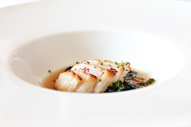 Seared Scallop Dashi Broth