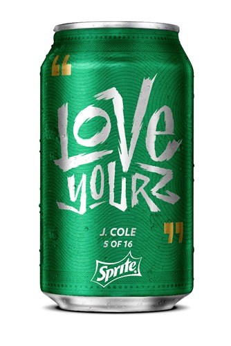 Sprite Hip Hop Cans Puts a Rhyme to Your Drink