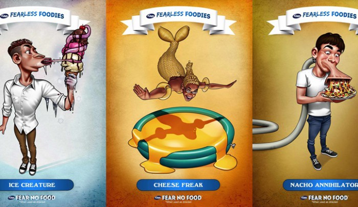 Tums Fearless Foodies Campaign takes huge inspiration from Garbage Pail Kids and I love it!
