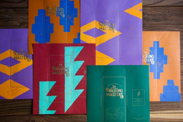 Roasting Masters Chocolate Packaging Design