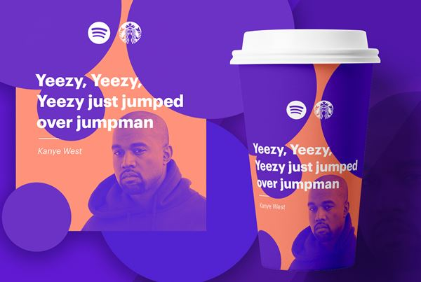 Starbucks Spotify Cups - They're not real but look great